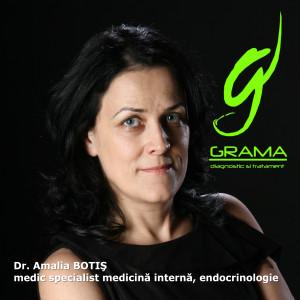 Dr. Amalia BOTIS, specialist interne, endocrinologie